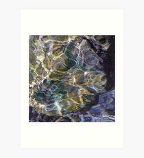 Opal water - Ammer Art Print