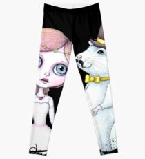 To Have And To Hold - Mr and Mrs Rat (Full Color Version) Leggings