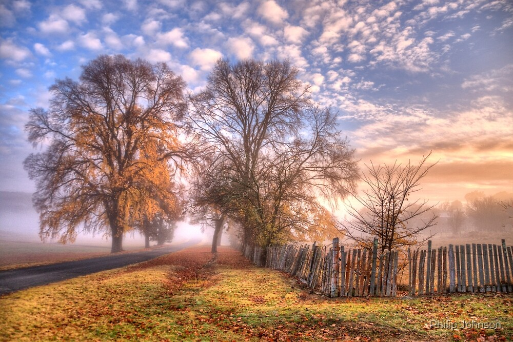 Down a Country Lane - Hill End NSW - The HDR Experience by Philip Johnson