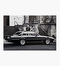 Mr. and Mrs. Ferrari  Photographic Print
