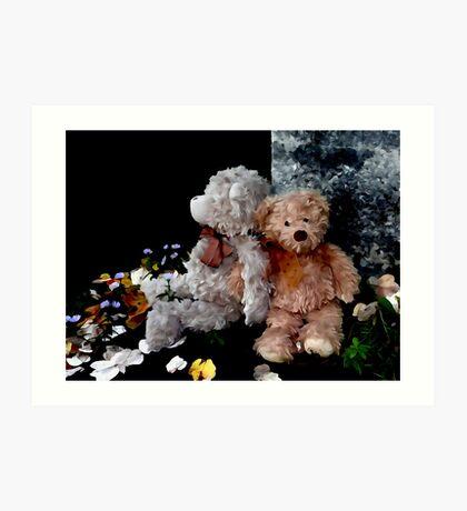 Teddy Bear Buddies Art Print