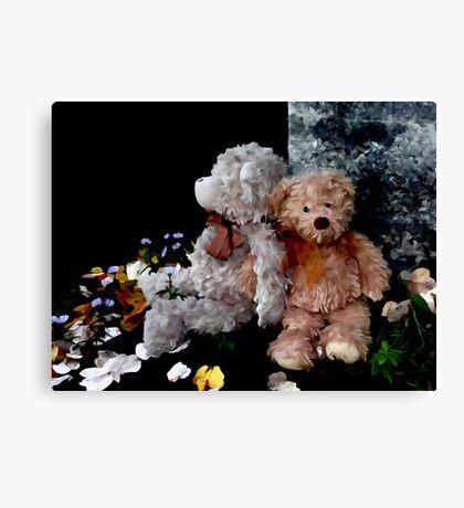Teddy Bear Buddies Canvas Print