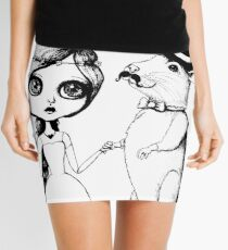 From This Day Forward - Mr and Mrs Rat (Single Color Version) Mini Skirt