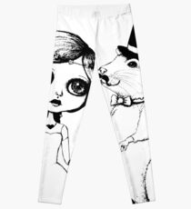 From This Day Forward - Mr and Mrs Rat (Single Color Version) Leggings