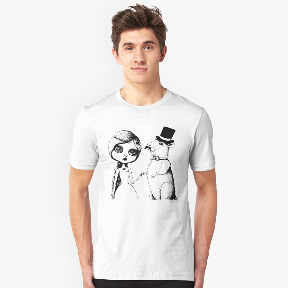 From This Day Forward - Mr and Mrs Rat (Single Color Version) Unisex T-Shirt Front