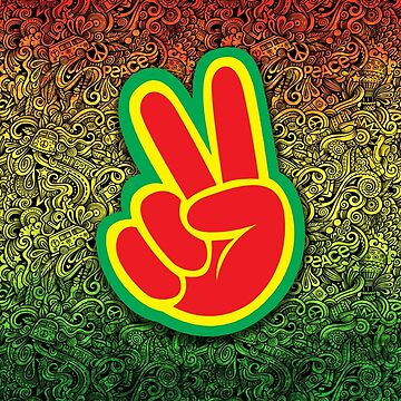 Rasta Hippies for Peace by catalystdesign