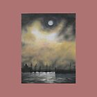 Oil Painting - Emeryville Marina I, 2008 by Igor Pozdnyakov