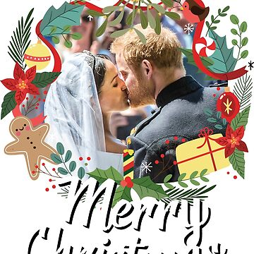 Meghan & Harry Merry Christmas by Alisterny