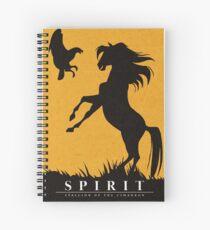 Spirit : Stallion of the Cimarron Minimalist Spiral Notebook
