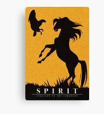 Spirit : Stallion of the Cimarron Minimalist Canvas Print