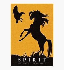 Spirit : Stallion of the Cimarron Minimalist Photographic Print