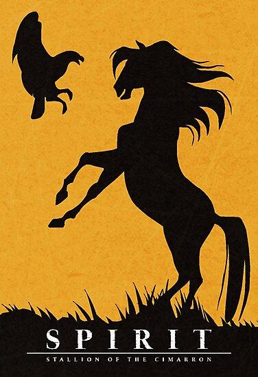 Spirit : Stallion of the Cimarron Minimalist by TheMinimalist