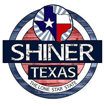 Shiner Texas rustic wood circle by artisticattitud