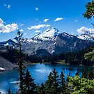 Mt Baker and Baker Lake by naturediver