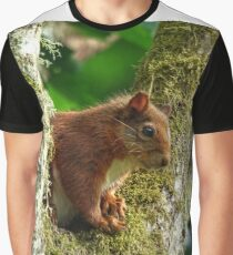 The Red Squirrel Graphic T-Shirt