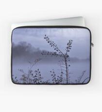 Foggy Winter Botanicals in Landscape Laptop Sleeve