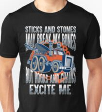 Breakdown Lorry Tow Truck Gift Unisex T-Shirt
