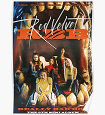 Póster Red Velvet - Really Bad Boy (El quinto mini álbum)