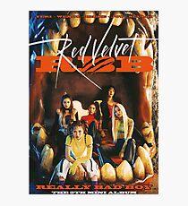 Lámina fotográfica Red Velvet - Really Bad Boy (El quinto mini álbum)