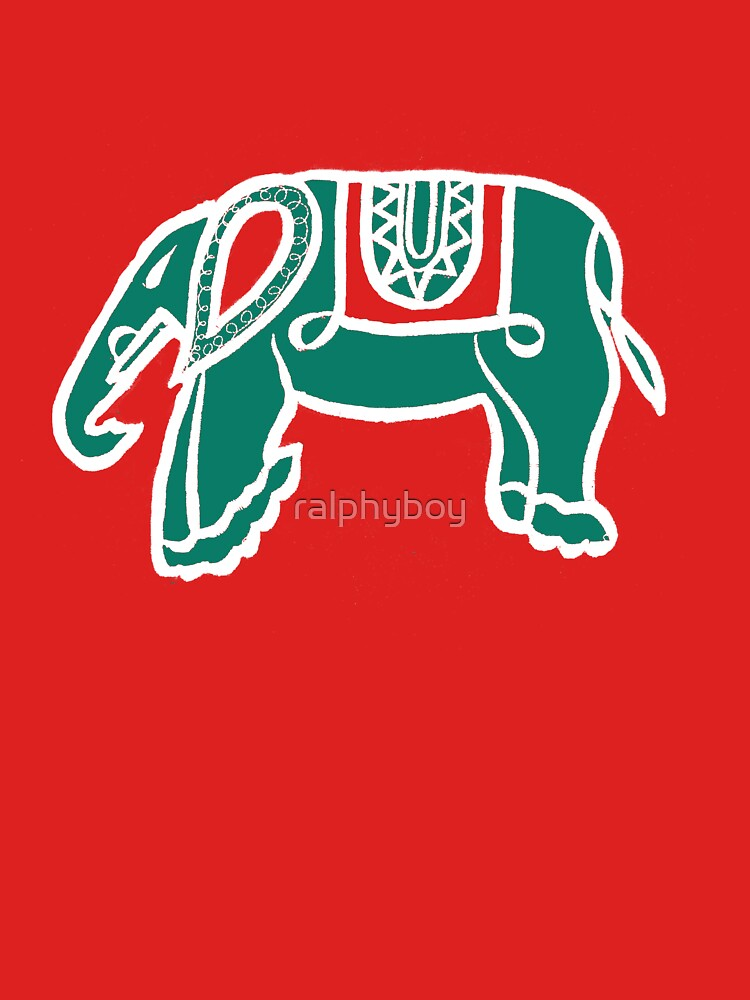 green elephant by ralphyboy
