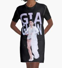 GIA A4 Graphic T-Shirt Dress