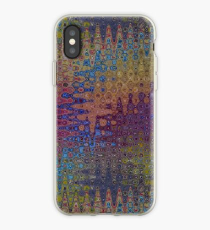 Psychedelic Pattern  Seismidellic Waves iPhone Case