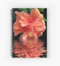 Tropical Reflection Spiral Notebook