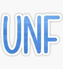 UNF Sticker