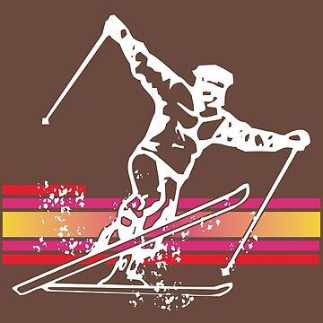 Skiing by T-ShirtsGifts