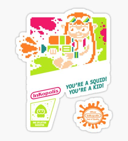 SPLAT SQUAD Sticker