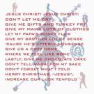 Christmas Prayer by Arvind  Rau