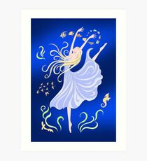 Dancing With the Fishes Art Print