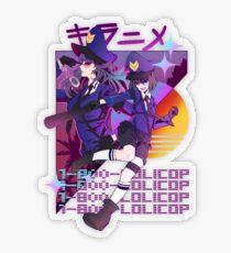 1-800-LOLICOP Transparent Sticker