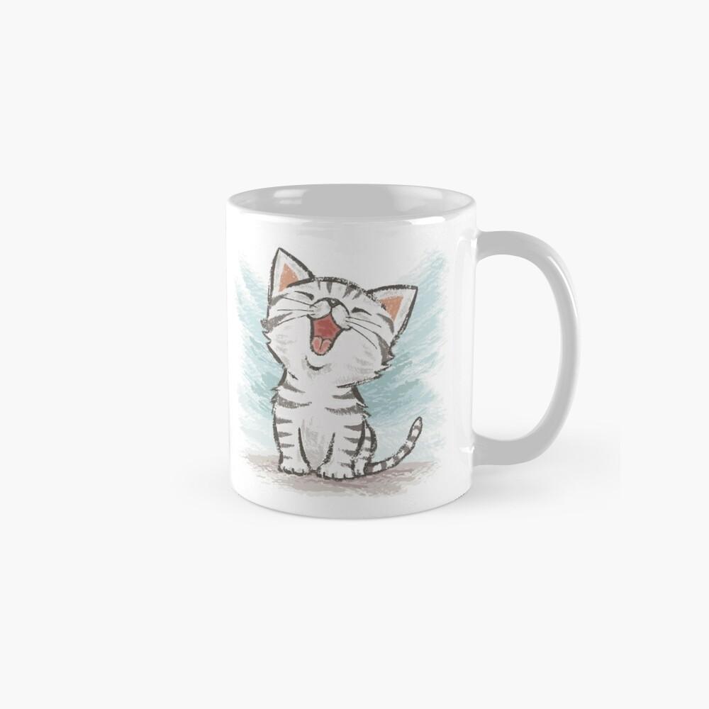 American Shorthair happy Mugs