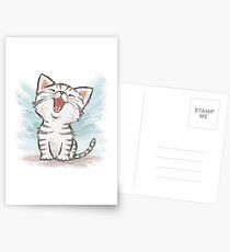 Amerikanisch Kurzhaar glücklich Postkarten
