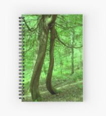 Music Amongst the Trees Spiral Notebook