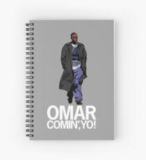 Omar Comin', Yo! Spiral Notebook