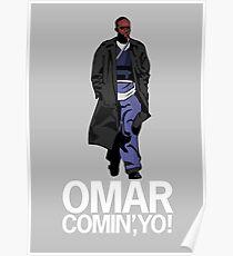 Omar Comin', Yo! Poster