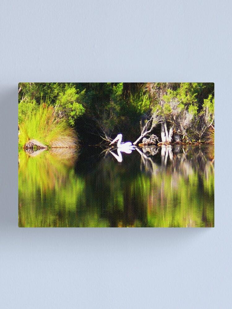 Alternate view of Pelican Dreamin' Canvas Print