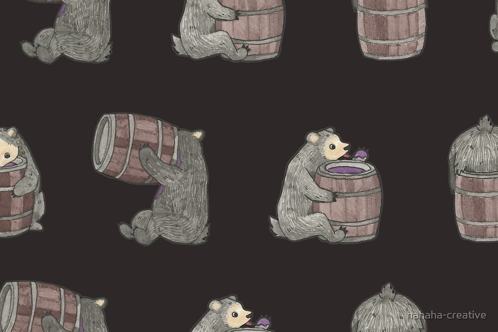thirsty bear by hahaha-creative