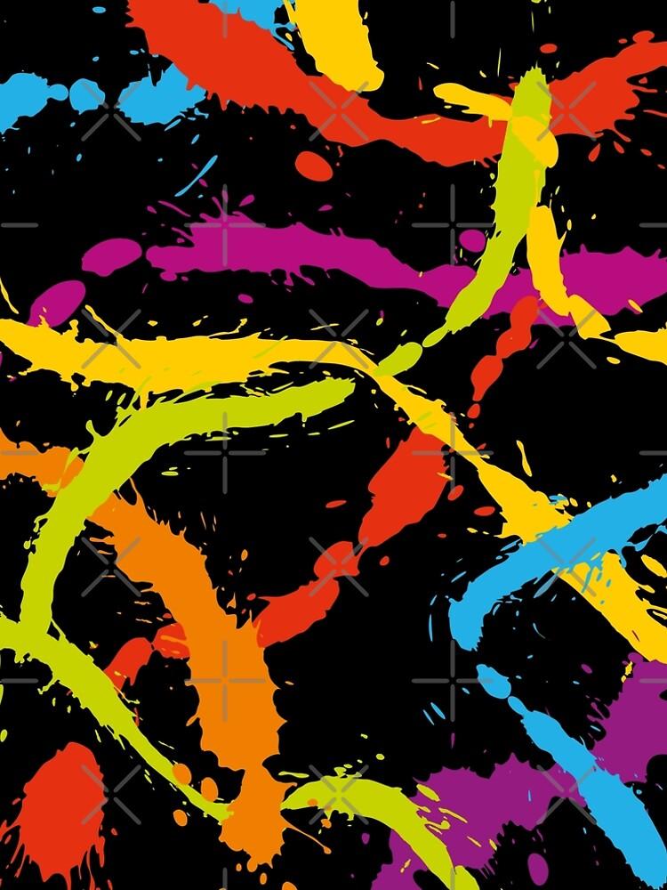 Splattered Rainbow [BLACK] by DanielBevis