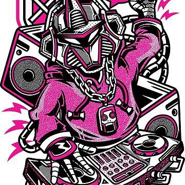 Cyborg DJ by NomadicMarket
