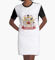 Body Improvement Club! Graphic T-Shirt Dress