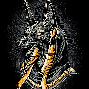 Anubis - Egyptian mythology by Skullz23