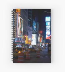 Late Night Times Square Spiral Notebook