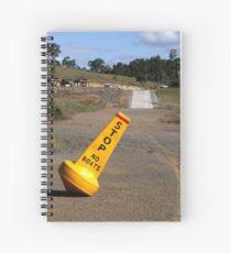 Dam Dry! Spiral Notebook