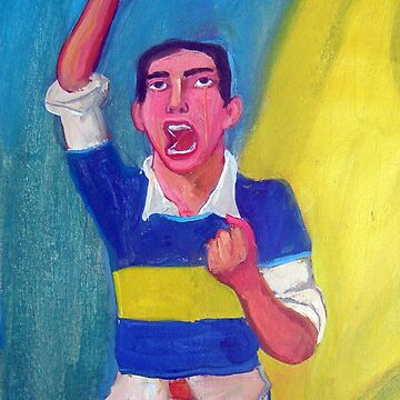 Soccer fan by diegomanuel