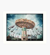 Ride the Sky Art Print