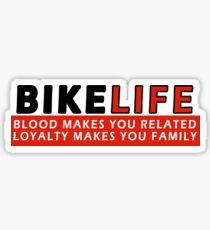 Bikelife - Loyalty Sticker