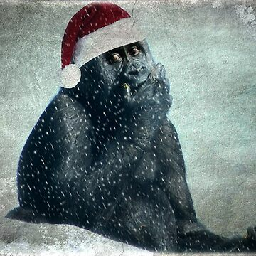 Merry Christmas From The Groovy Gorilla by Ladymoose